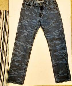Levi's 511 womens camo print jeans